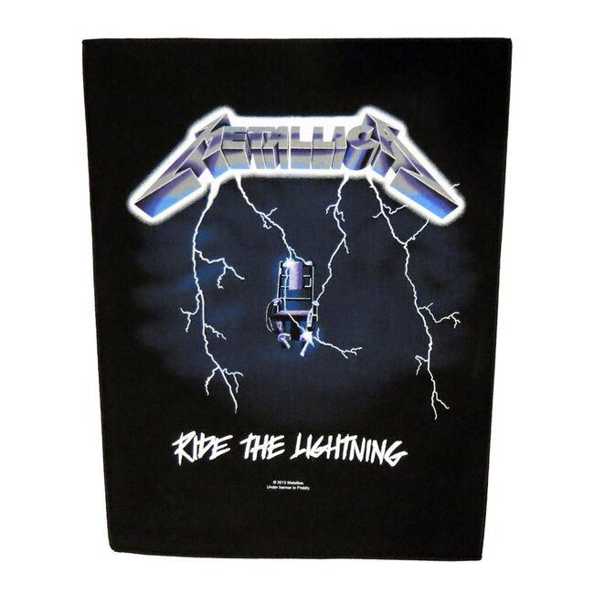 Ride The Lightning Back Patch, , hi-res