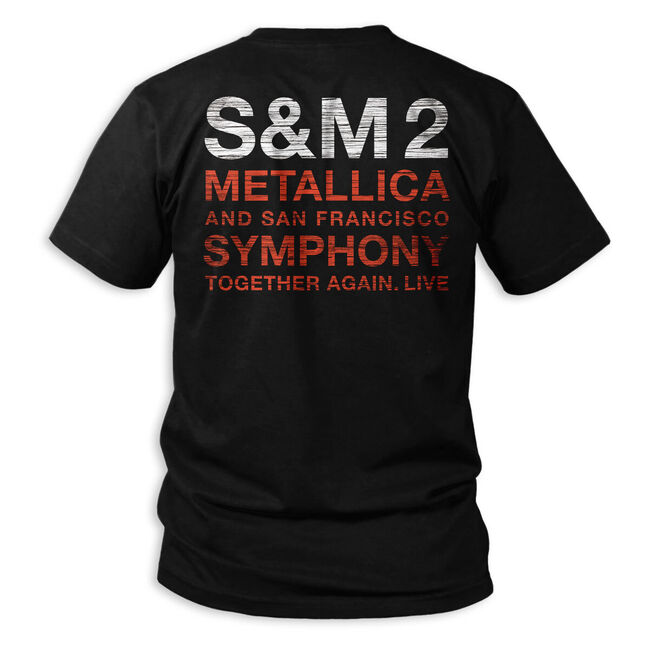 S&M2 Scratched Cello T-Shirt, , hi-res