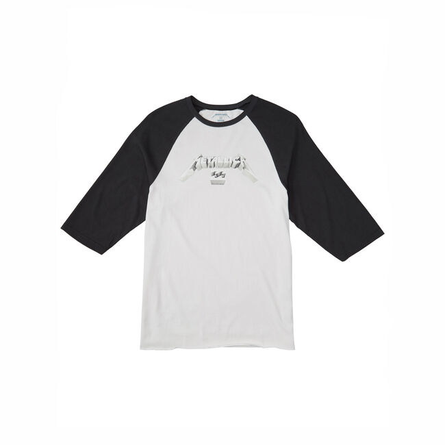 Billabong x Metallica 3D LOGO RAGLAN - Small, , hi-res