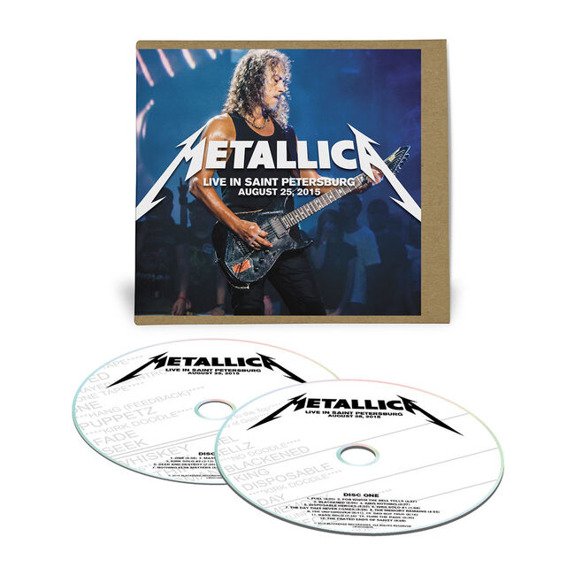 Live Metallica: Saint Petersburg, Russia - August 25, 2015 (2CD), , hi-res