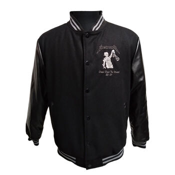 ...And Justice For All Varsity Tour Jacket (Includes exclusive t-shirt with purchase), , hi-res