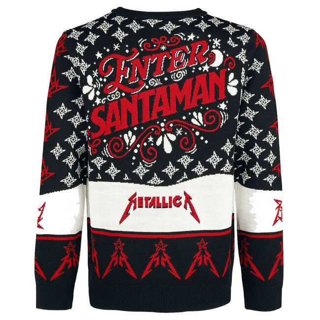 Enter Santaman Holiday Sweater, , hi-res