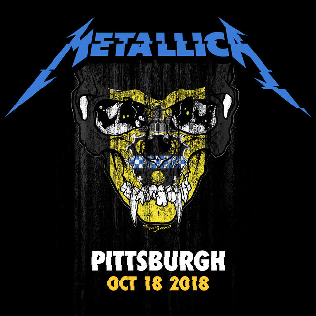 Live Metallica: Pittsburgh, PA - October 18, 2018 (2CD), , hi-res
