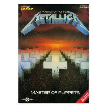 Master of Puppets - Guitar Tablature Book, , hi-res