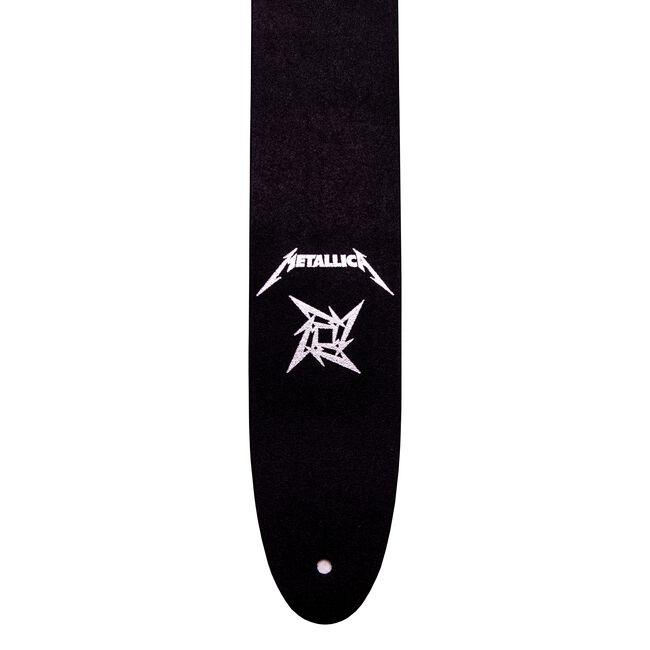 Ninja Star Leather Guitar Strap, , hi-res