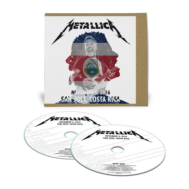 Live Metallica: San José, Costa Rica - November 5, 2016 (2CD), , hi-res