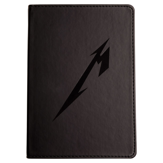 Logo Faux Leather Journal, , hi-res
