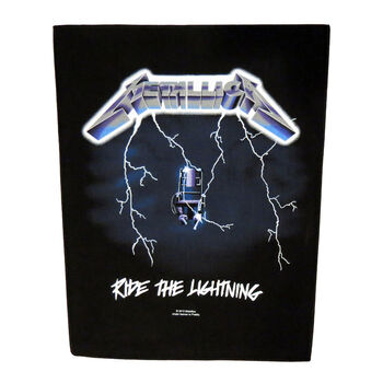 Ride The Lightning Back Patch, , hi-res