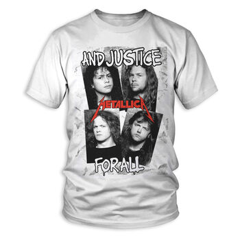 ...And Justice For All Faces T-Shirt, , hi-res