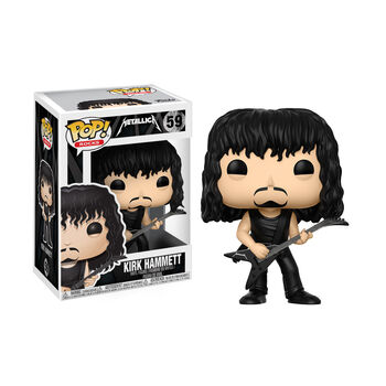Funko POP! Rocks: Kirk Hammett Action Figure, , hi-res