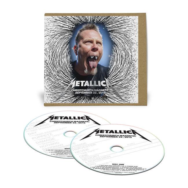 Live Metallica: Christchurch, New Zealand - September 22, 2010 (2CD), , hi-res