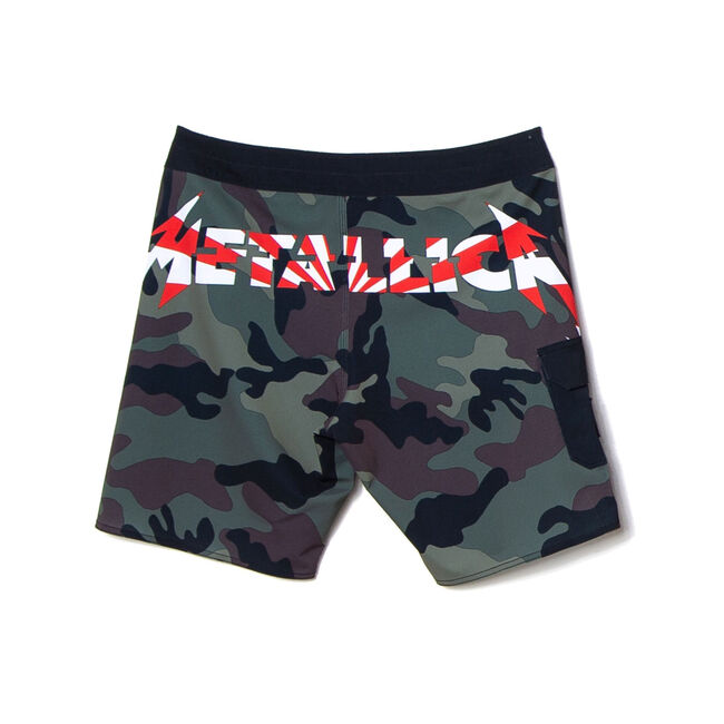 Billabong x Metallica AI Forever Camo Board Shorts, , hi-res