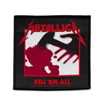 Kill 'Em All Woven Patch, , hi-res