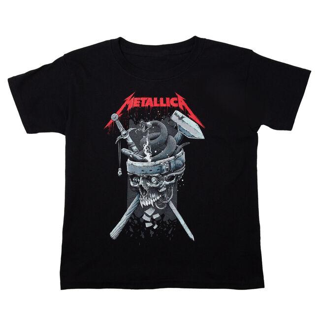 Youth Skull History T-Shirt, , hi-res