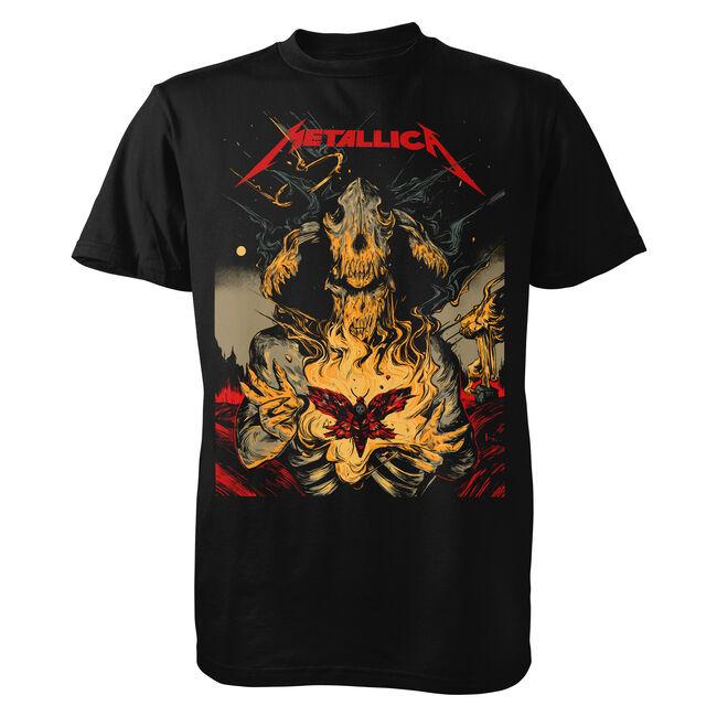 WolfSkullJack Moth T-Shirt - 4XL, , hi-res