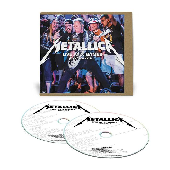 Live Metallica: Austin, TX - June 6, 2015 (2CD), , hi-res
