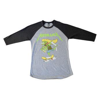 Hetfield Skates Raglan (Gry/Blk), , hi-res