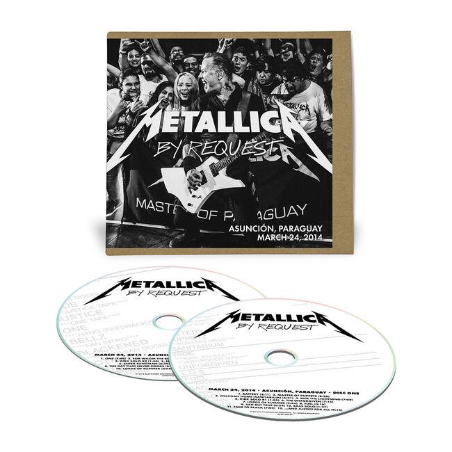 Live Metallica: Asuncion, Paraguay - March 24, 2014 (2CD), , hi-res