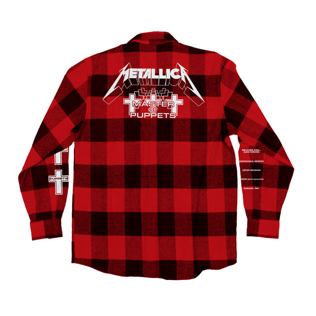 Puck Hcky x Metallica Master of Puppets Flannel, , hi-res