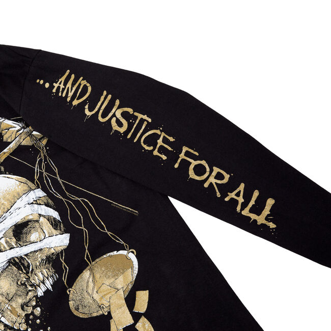 ...And Justice For All Long-Sleeve (Luke Preece), , hi-res