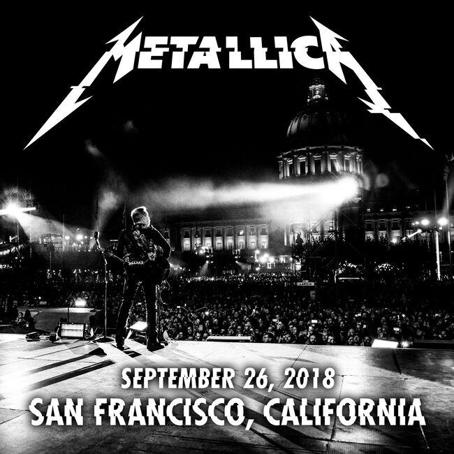 Live Metallica: Dreamfest at Civic Center Plaza, San Francisco, CA - September 26, 2018 (2CD), , hi-res