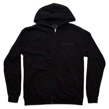 Blackened Distortion Full Zip Hoodie, , hi-res