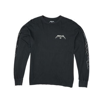Billabong x Metallica Ride The Lightning Long-Sleeve T-Shirt, , hi-res