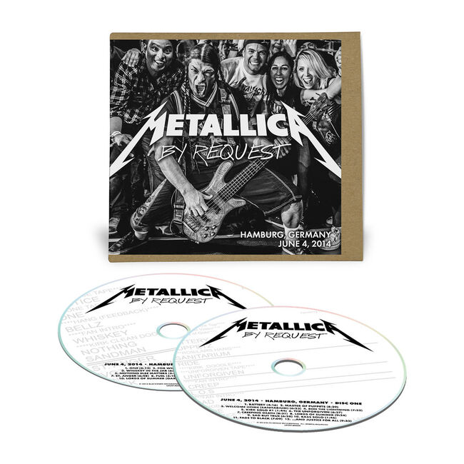 Live Metallica: Hamburg, Germany - June 4, 2014 (2CD), , hi-res