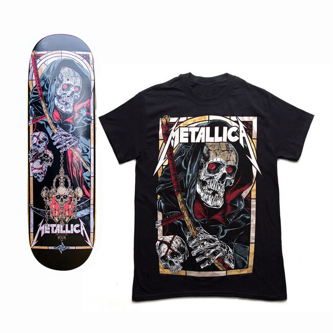 The Four Horsemen Death Reaper Skate Deck and T-Shirt Bundle - 3XL, , hi-res