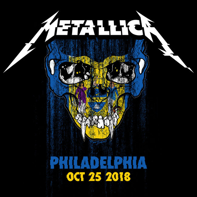 Live Metallica: Philadelphia, PA - October 25, 2018, , hi-res