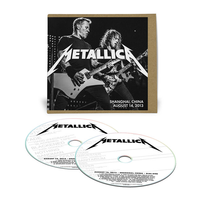 Live Metallica: Shanghai, China - August 14, 2013 (2CD), , hi-res