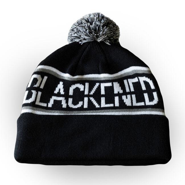 Blackened Whiskey Pom Beanie, , hi-res