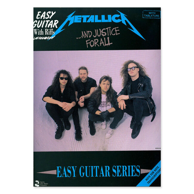 ...And Justice for All - EZ Guitar Tablature Book, , hi-res
