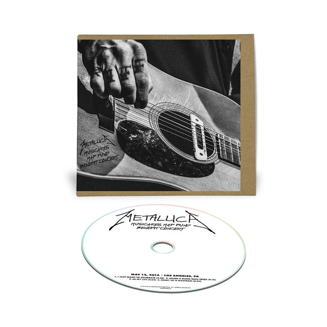 Live Metallica: MAP Fund Benefit in Los Angeles, CA - May 12, 2014 (CD), , hi-res
