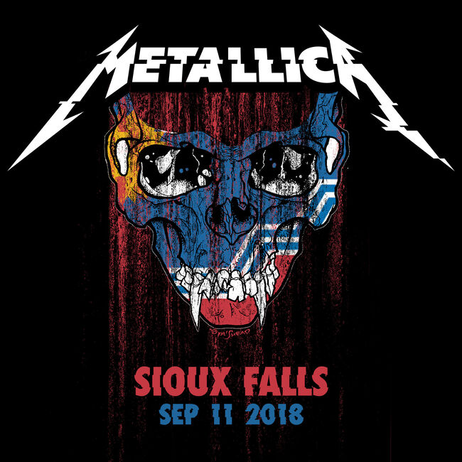 Live Metallica: Sioux Falls, SD - September 11, 2018 (2CD), , hi-res