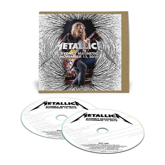 Live Metallica: Sydney, Australia - November 13, 2010 (2CD), , hi-res