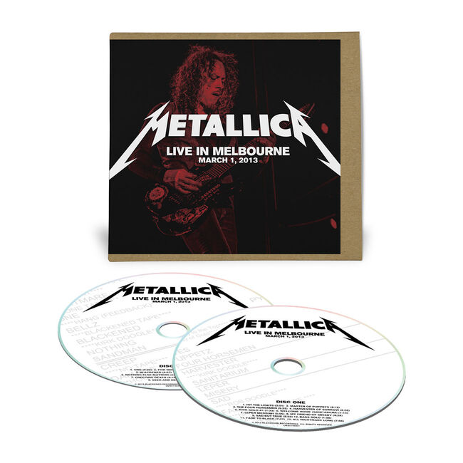 Live Metallica: Melbourne, Australia - March 1, 2013 (2CD), , hi-res