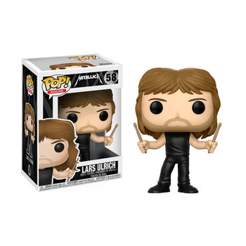Funko POP! Rocks: Lars Ulrich Action Figure, , hi-res