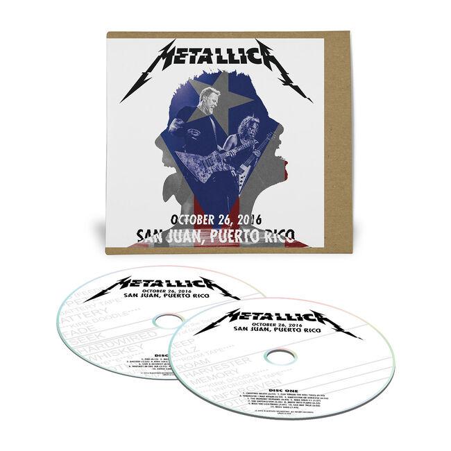 Live Metallica: San Juan, Puerto Rico - October 26, 2016 (2CD), , hi-res