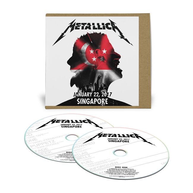 Live Metallica: Singapore - January 22, 2017 (2CD), , hi-res
