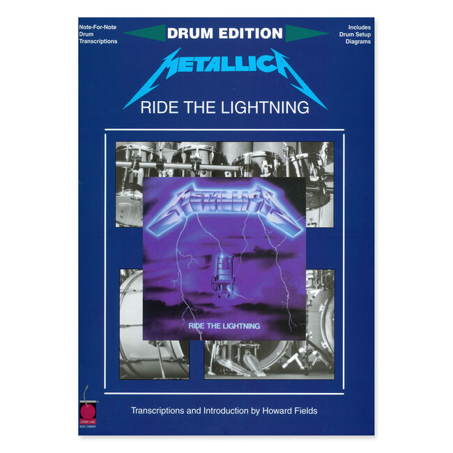 Ride The Lightning - Drum Transcription Book, , hi-res