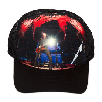 James Hetfield Live Trucker Hat, , hi-res