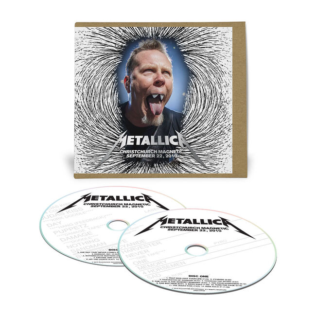 Live Metallica: Christchurch, New Zealand - September 22, 2010 (2CD), , hi-res