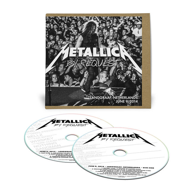 Live Metallica: Landgraaf, Netherlands - June 9, 2014 (2CD), , hi-res