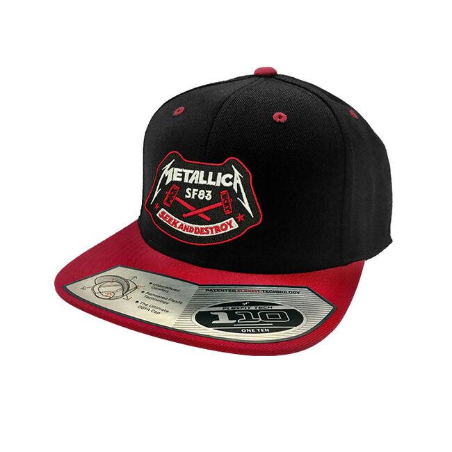 Puck Hcky x Metallica Seek & Destroy Snapback Hat, , hi-res