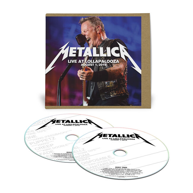 Live Metallica: Chicago, IL - August 1, 2015 (2CD), , hi-res