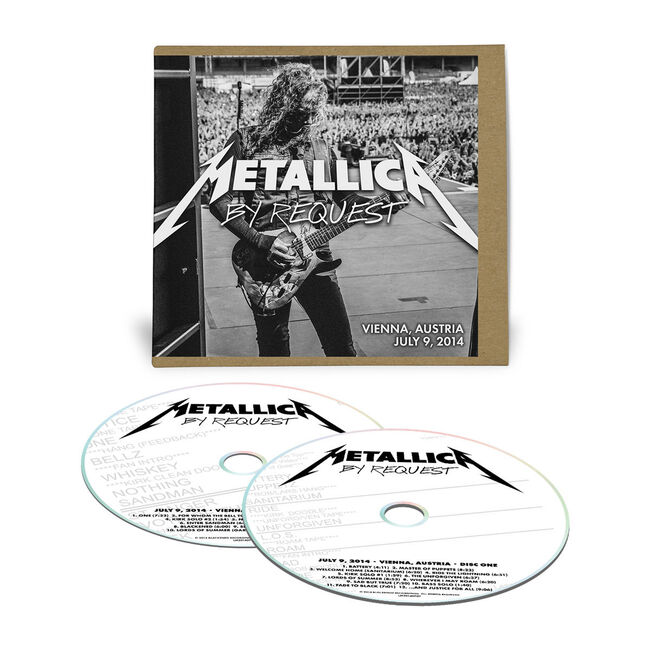 Live Metallica: Vienna, Austria - July 9, 2014 (2CD), , hi-res