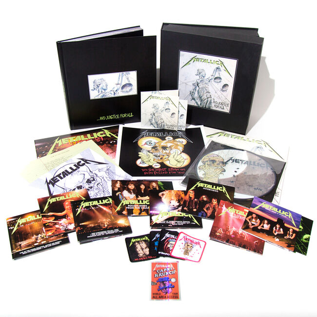 ...And Justice For All (Remastered) - Deluxe Box Set, , hi-res