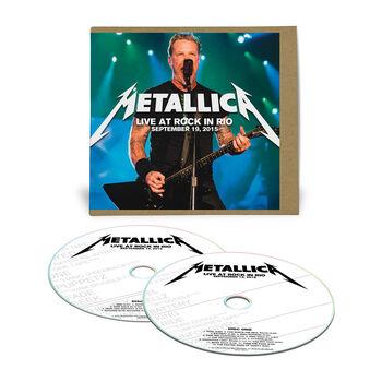 Live Metallica: Rio de Janeiro, Brazil - September 19, 2015 (2CD), , hi-res