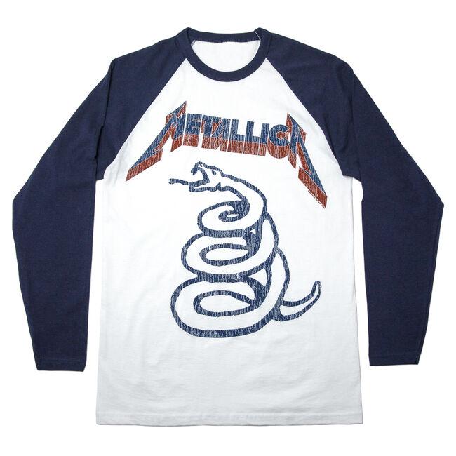 Snake Logo Raglan (Navy) - Medium, , hi-res